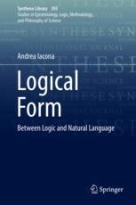 Iacona (2018) - Logical Form